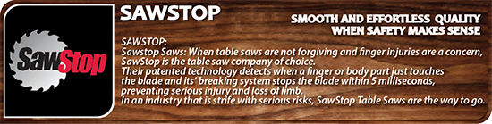 SawStop Tools dealers
