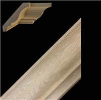 CROWN MOULDING, HICKORY 3-3/8""