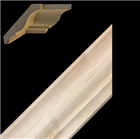 CROWN MOULDING, MAPLE 3-3/8""