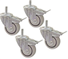 "3"" Dual Locking Caster-Set (4)"