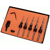 Number 6 Set,Countersink/Taper Drill