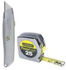 XXXStanleyTape Measure/Utility Knife Set 90-082