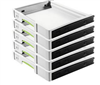 Festool SYS-AZ Drawer Set 5X