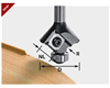 Radius Router Bit 2mm