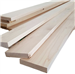 "Maple, E.H, Clear 1 Face, White 0.77"" x 4.0625"" Blanks"
