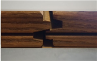 "Thermory Ash Decking, Grooved, JEM Joint .79"" x 3.7"""
