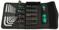 Wera Kraftform Kompakt with Bitholding KK100 52-piece Set