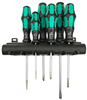 Wera Kraftform Plus Screwdriver Set 334/6 (SL/PH )6-pc set