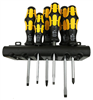 Wera Kraftform Chisel Driver Screwdriver 932/6 (SL/PH) 6-pc set