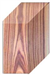 "KNIFE BLANK, TULIP WOOD 1"" x 1-1/2"" x 5"""