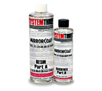 System Three Mirror Coat Kit 1-1/2 Pint Kit