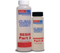 System Three Clear Coat Kit 1-1/2 Pint Kit