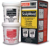 System Three SculpWood Kit 1 Quart Kit