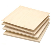 Baltic Birch, 3 Ply BB/BB, 3mm x 5-ft x 5-ft Plywood Sheets