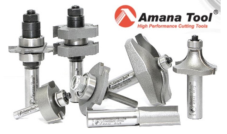 AMANA - Router Bits & Saw Blades