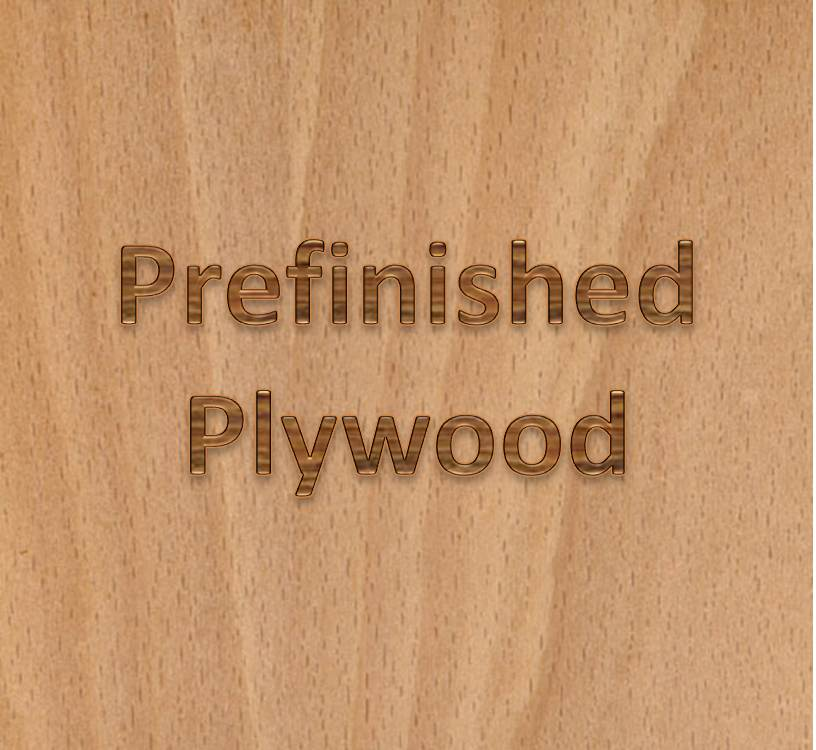 PREFINISHED PLYWOOD - Maple, Birch & Cherry