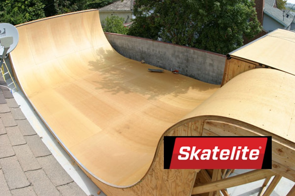 Skatelite Ramp Surface Edensaw Woods Ltd