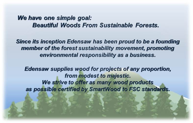 Beautiful Woods from Sustainable Forests