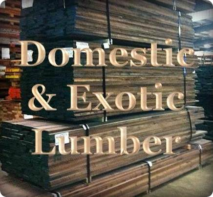 Domestic and Exotic Lumber